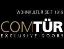 Logo ComTur_Schatten_mit Slogan_negativ